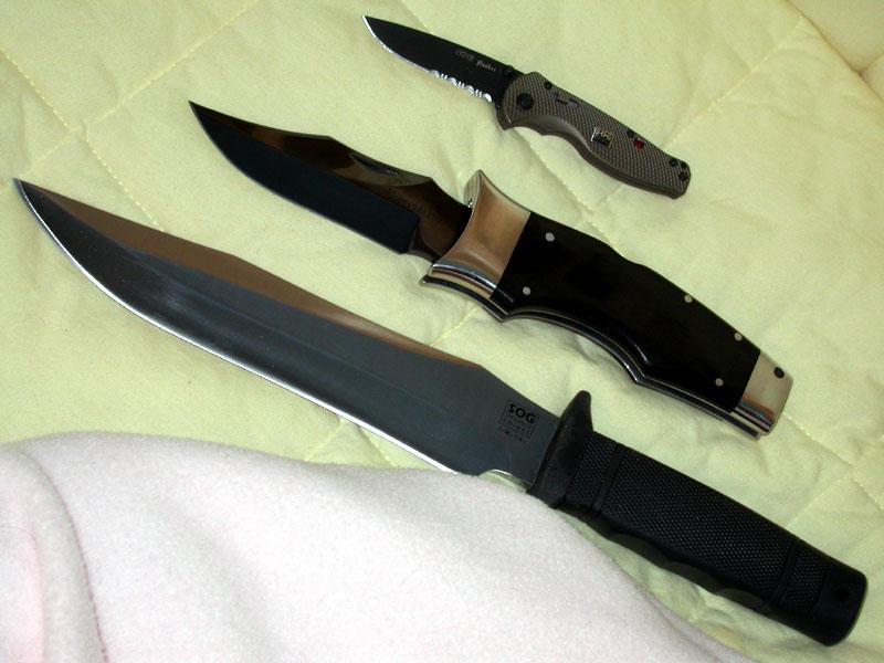 SOG Knives Collectors - Tigershark (SK-5)