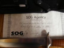 SOG Agency #311 Certificate (Mark Hall)