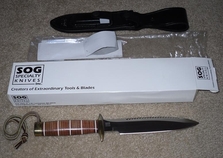 SOG SCUBA/Demo Shot 2001 Prototype Mint in box